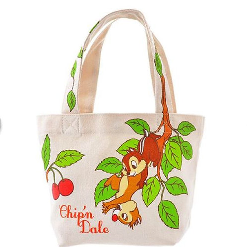 Hand Bag Collection - Friend & Love Chip & Dale Tote lunch bag
