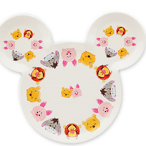 Tableware Collection - TSUM TSUM Pooh Drawing Sketch Mickey head plate