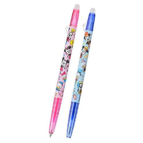 Frixion Series : Mickey & Friend Rakugaki Circus 0.38 Frixion Pen Set
