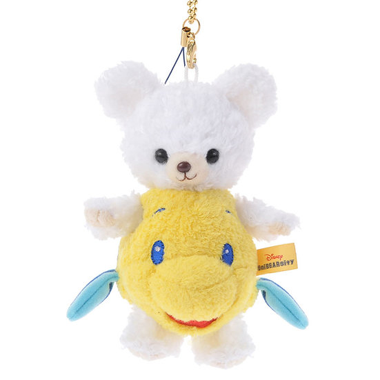 Unibearsity Keychain Collection - Fix. The Flounder Unibearsity