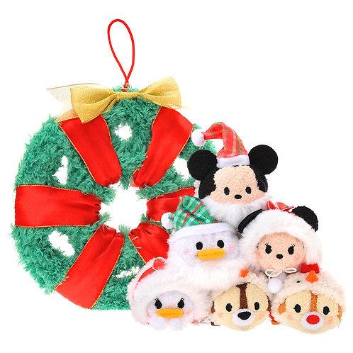 Limited Edition Christmas Tsum Tsum Wreath