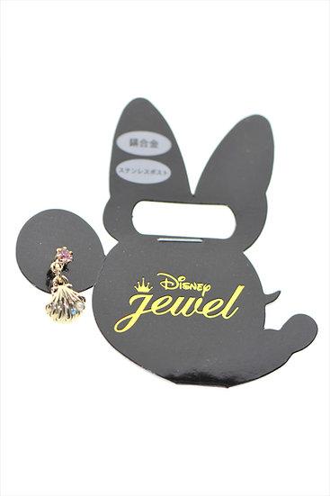 Single Design Earring Collection : Little Mermaid Seashell Earring
