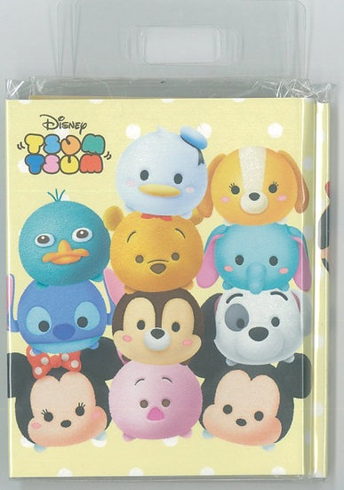 Memo Collection - Tsum Tsum Sticky memo pad with Index Sticker