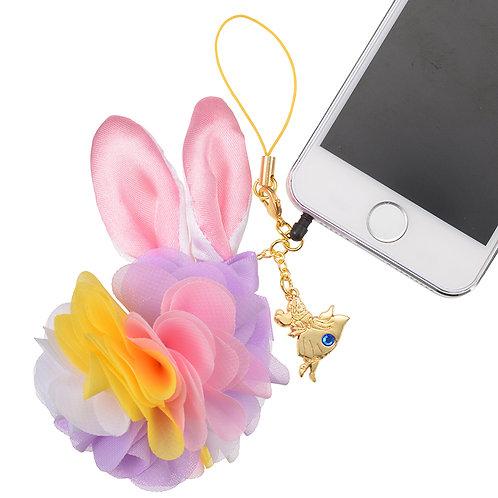 Strip Dust plug Keychain Collection - Curious garden Alice in wonderland flower