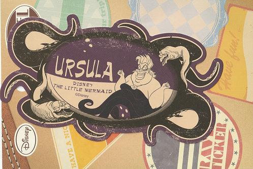 Decoration Sticker Collection -  Little Mermaid . Ursula Disney Decor sticker