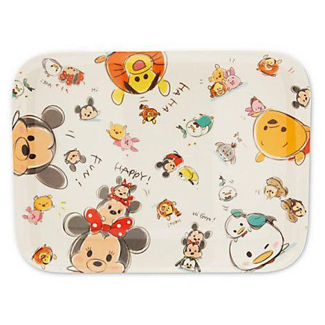 Kitchen Homeware -  TSUM TSUM Mickey & Friends Melamine Tray