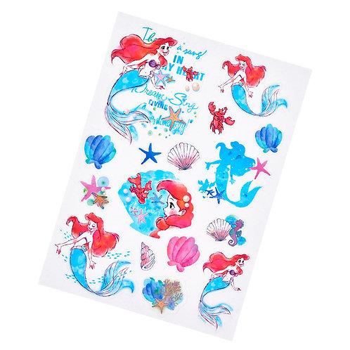 Decoration Sticker Collection - Little Mermaid Waterproof Seal Sticker