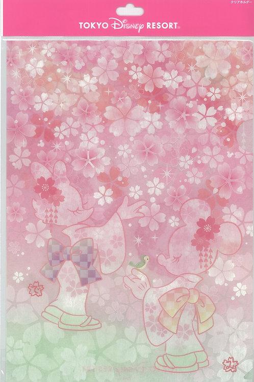 File Collection - Tokyo Disneyland Sakura Minnie & Daisy File 2019