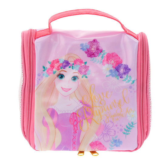 Waterproof / Spa Bag Collection : Spa Shower Hanger Pouch Tangled Rapunzel