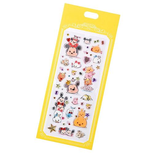 Long Pack Sticker Collection - Mickey & Friend Tsum Tsum shiny Ruby  Sticker