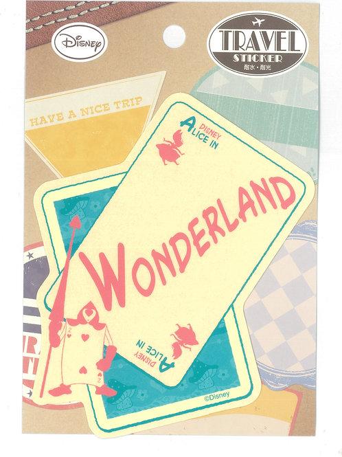 Decoration Sticker Collection - Alice In Wonderland Poker Decoration sticker