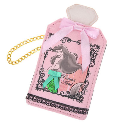 Card Case Collection : Perfume bottle Little Mermaid Ariel card case pouch