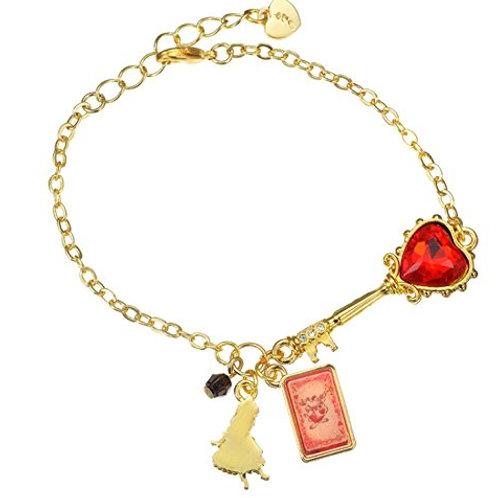 Bracelet Series : The star Shine Bright Alice Red&Black Key Bracelet
