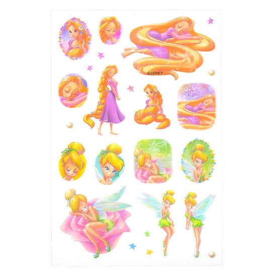 Disney Characters Sticker Collection - Rapunzel & Tinkle Bell