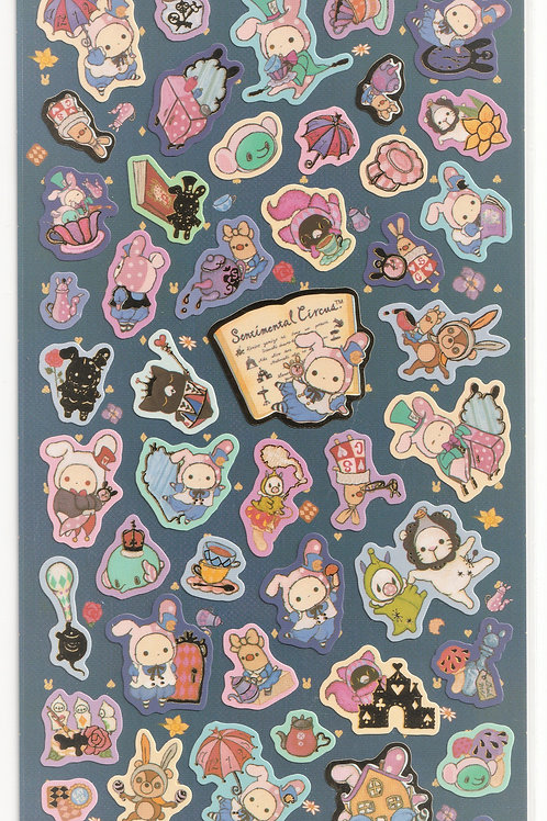 Long Pack Sticker Collection - Sentimental Circus in the Wonderland Sticker