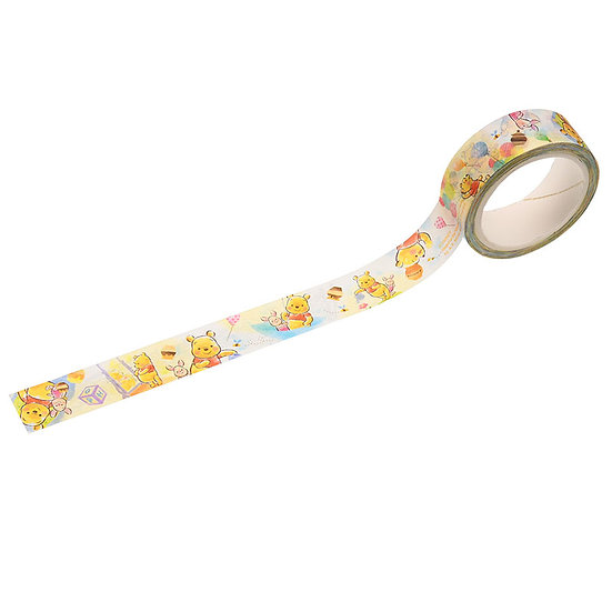 Washi tape Collection- Disney Winnie The Pooh Honey Day Washi Tape