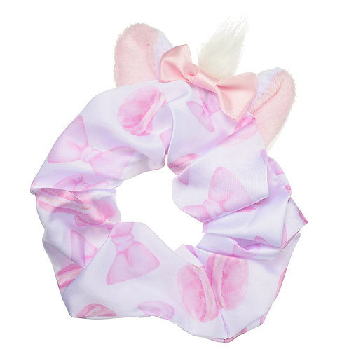 Scrunchie Hair Decoration :  Marie Cat Pony Hair Stuffy Ear Scrunchie