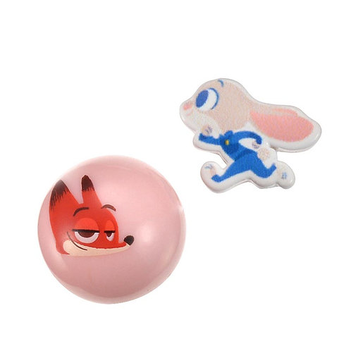 Single Design Earring Collection : Reversible Earring  Zootopia Fun!