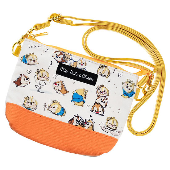 Bag Collection - Tsum Tsum Sketch Chip ,Dale & Clarice Tote Handphone Bag