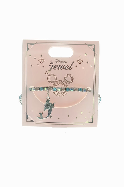 Princess Bracelet Series : Little Mermaid Ariel Diamond Bracelet