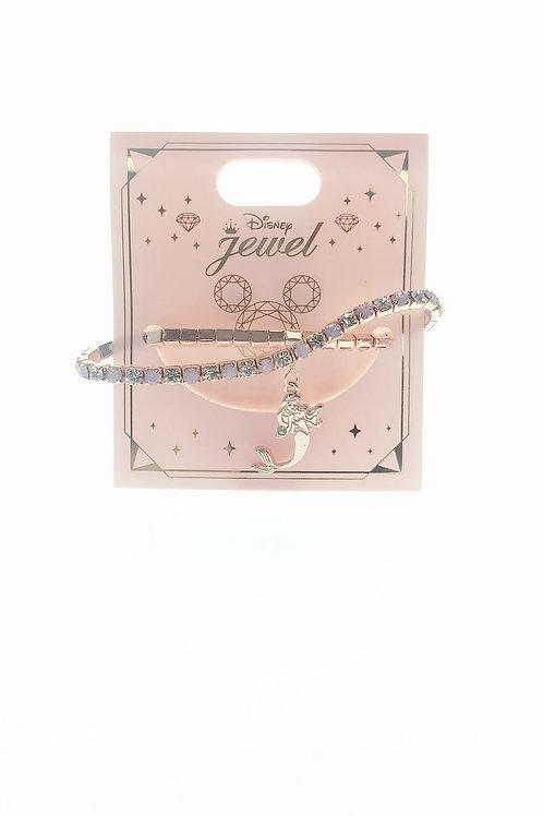 Princess Bracelet Series : Little Mermaid Ariel Pink Diamond Bracelet