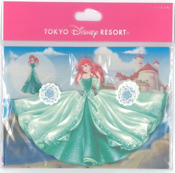 Tokyo Disney Exclusive :  Little Mermaid 3D folding Origami Memo Pad