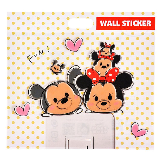 Wall sticker collection - Tsum Tsum Mickey&Minnie