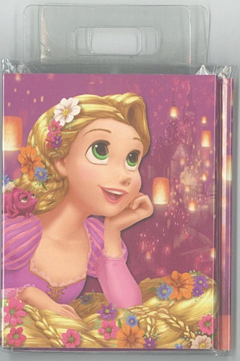 Memo Collection - Tangled Rapunzel Sticky memo pad with Index Sticker