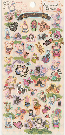 Long Pack Sticker Collection - Sentimental Circus in the Wonderland Sticker 2