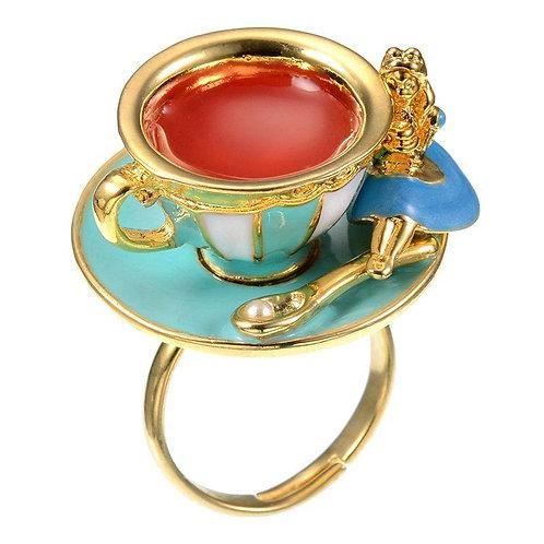 Ring  Series - Alice in wonderland Teacup ring