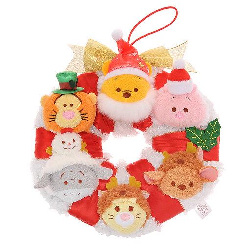 Christmas Tsum Tsum Wreath 2016 - Winnie The pooh & Friends