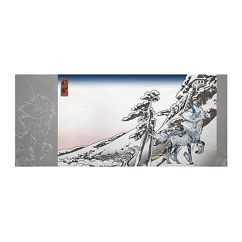 Towel Series -KIRIN X YUKIBARE ft  UKIYO-E Monster Hunter Towel
