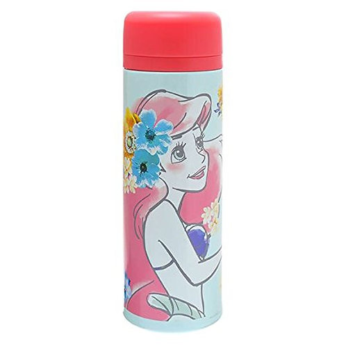 Stainless Flask Collection : Floral Beauty Ariel Little Mermaid Stainless Mug