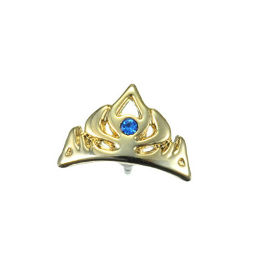Single Design Earring Collection : Elsa Crown Diamond Earring