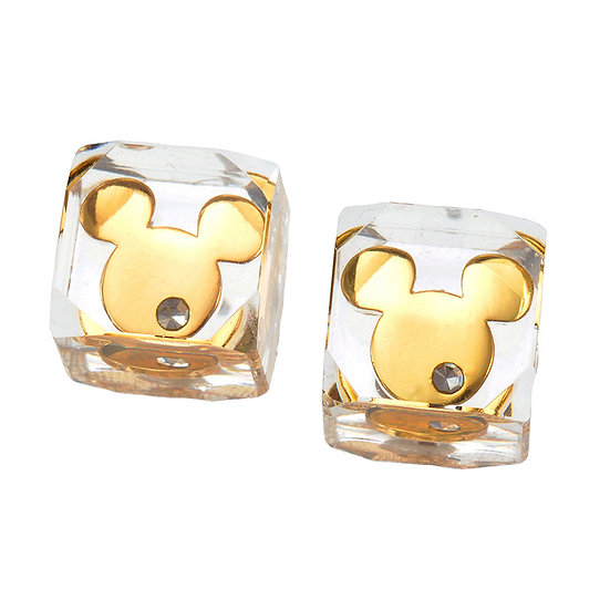 Earring Collection : Mickey cube Simple One Series Earring