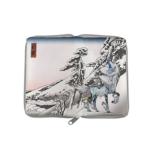 Make-up Pouch Collection : KIRIN X YUKIBARE ft  UKIYO-E Monster Hunter Pouch