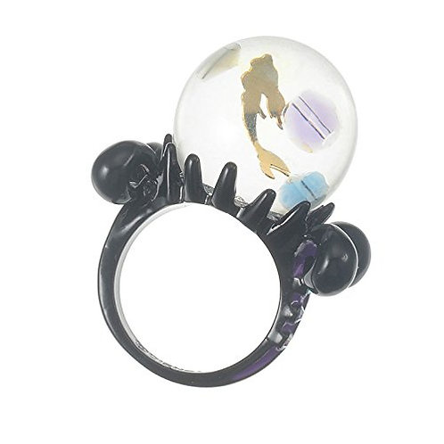 Ring Series : Little Mermaid Ursula Magic Ball Ring