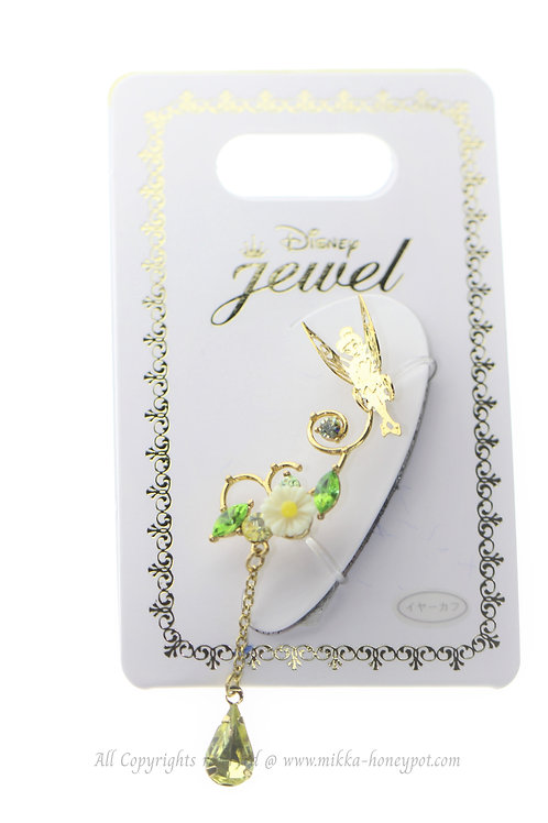 Ear Hook Earring Collection : Tinker Bell Flower Crown Ear Hook Clip