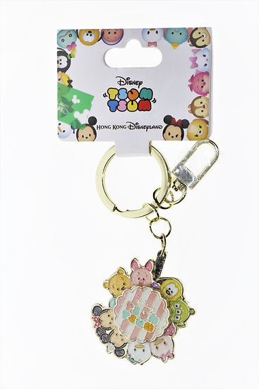 Ring Keychain Collection - Tsum Tsum Sweet Cookie Spinning Keychain