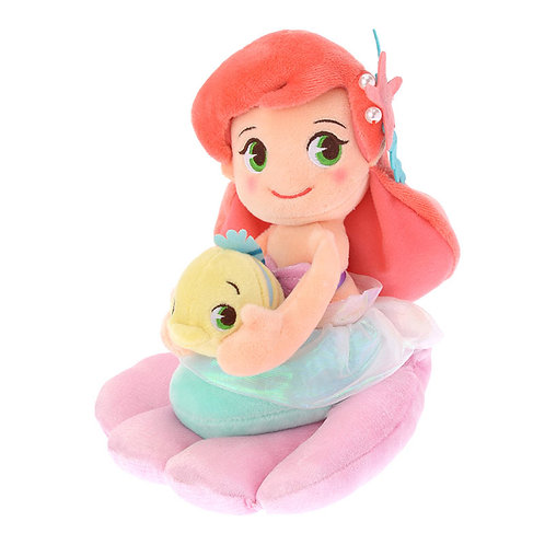 Plushie Series:Disney Crystal Dream Ariel&Flounder