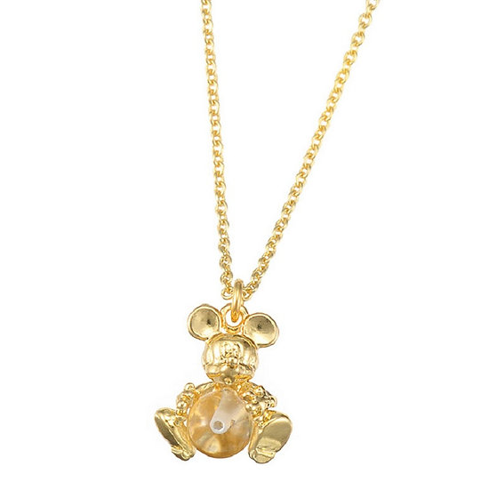 Mickey Natural Stone Necklace - Calm