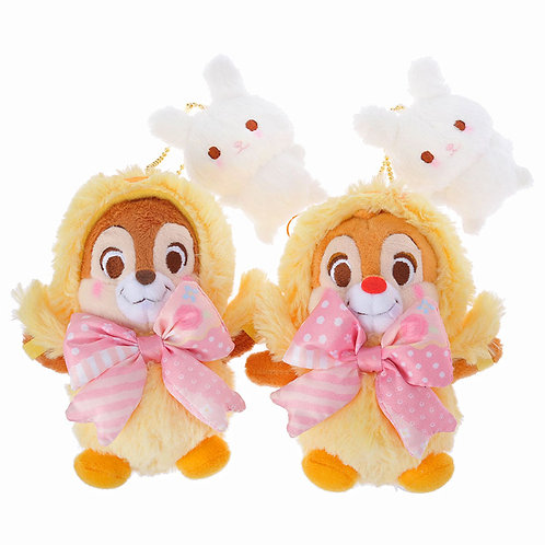 Plushie Keychain Collection - Easter 2016 Chip and dale