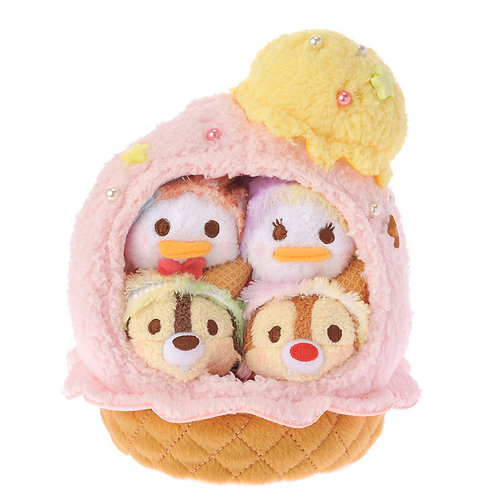 Tsum Tsum Set Collection - Ice Cream Sweetness Donald Daisy & Chip & Dale