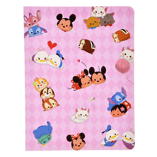 Memo Collection - Tsum Tsum Friends A5 Post-it Memo Note pad