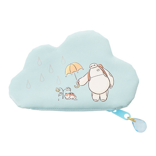 Coin Pouch Collection : Rainy Day Series Baymax & Mochi Cloud Pouch