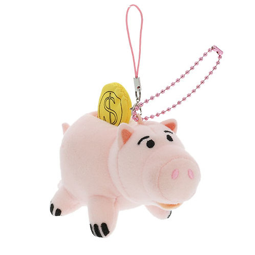 Plushie Keychain Series:  Toy Story Ham the coin bank