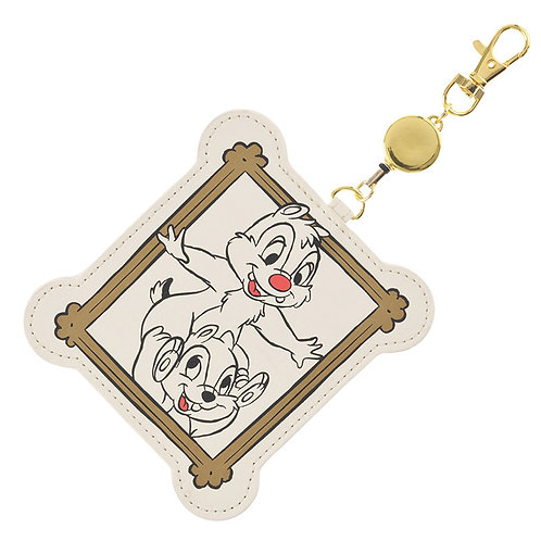"""Card Case Collection : Chip & dale """"MICKEY TROMPE L'OEIL"""" Card case"""