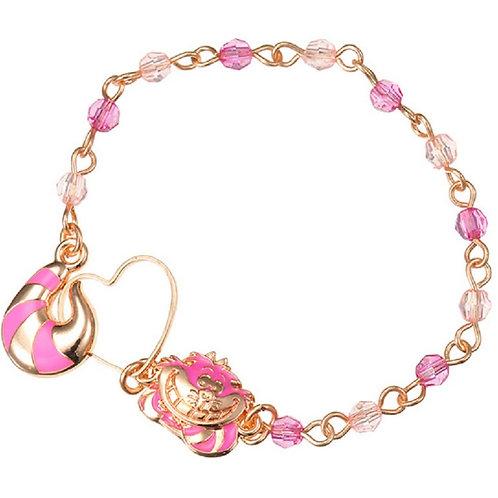 Alice in wonderland  Cheshire bracelet