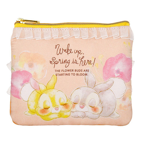 Coin & Card Pouch Collection : SPRING FOREST  Miss Lady & Thumper Purse