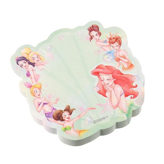 Sticky Pad Series: Little Mermaid Ariel & Sister Friendship memo